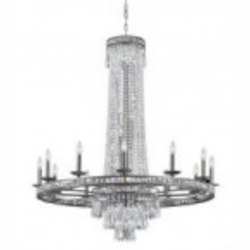Crystorama Bronze Chandelier - 5269-OS-CL-MWP