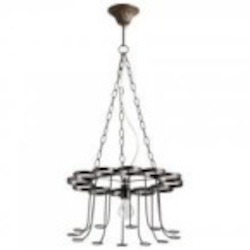 Cyan Designs One Light Bronze Up Chandelier - 05095