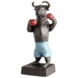 Cyan Designs Bull Up Sculpture - 05540
