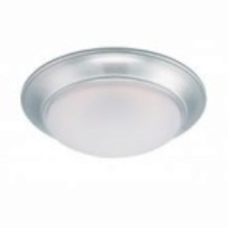 Designers Fountain LED Satin Platinum Frosted Glass Bowl Flush Mount - LED201-SP-FR