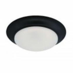 Designers Fountain LED Oil Rubbed Bronze Frosted Glass Bowl Flush Mount - LED202-ORB-FR
