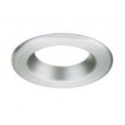 Designers Fountain Brushed Nickel Magnetic Trim Only Glass Recessed Lighting Trim - RT4741-BN
