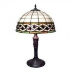 Dimond Two Light Tiffany Bronze Table Lamp - 70141-2