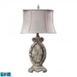 Dimond One Light Restoration Grey Table Lamp - 93-10006-LED