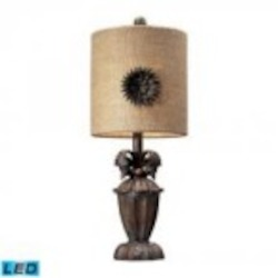 Dimond One Light Casa Nova Table Lamp - 93-10021-LED