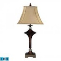 Dimond One Light Viscount Bronze Table Lamp - 93-9241-LED