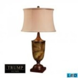 Dimond One Light Tobacco Leaf Table Lamp - D1429-LED