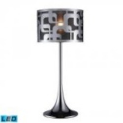 Dimond One Light Chrome Table Lamp - D1463-LED