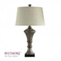 Dimond One Light Cahors Silver Table Lamp - D2039
