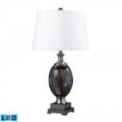 Dimond One Light Galaxy/black Nickel Table Lamp - D2273-LED