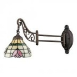 ELK Lighting One Light Tiffany Bronze Wall Light - 079-TB-09