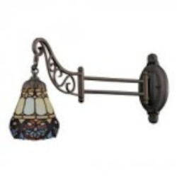 ELK Lighting One Light Tiffany Bronze Wall Light - 079-TB-21