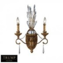 ELK Lighting Two Light Spanish Bronze Wall Light - 11000/2