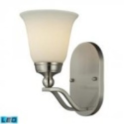 ELK Lighting One Light Brushed Nickel Bathroom Sconce - 11500/1-LED