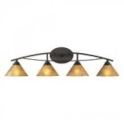 ELK Lighting Four Light Aged Bronze Vanity - 17029/4