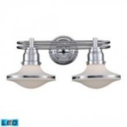 ELK Lighting Two Light Polished Chrome Vanity - 17051/2-LED