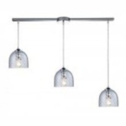 ELK Lighting Three Light Polished Chrome Multi Light Pendant - 31080/3L-CLR