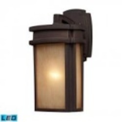 ELK Lighting One Light Clay Bronze Wall Lantern - 42140/1-LED