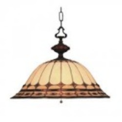 ELK Lighting Three Light Burnished Copper Down Pendant - 640-BC
