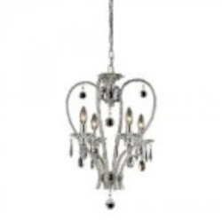 ELK Lighting Four Light Chrome Up Pendant - 82001/4