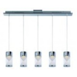 ET2 Tyme 5-Light LED Pendant - E22467-75PC