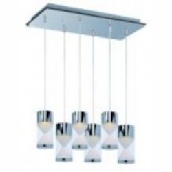 ET2 Tyme 6-Light LED Pendant - E22468-75PC