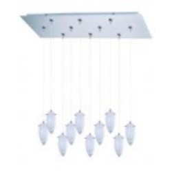 ET2 Minx 10-Light RapidJack Pendant and Canopy - E93941-113SN