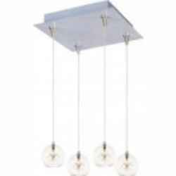 ET2 Starburst 4-Light RapidJack Pendant and Canopy - E94772-24
