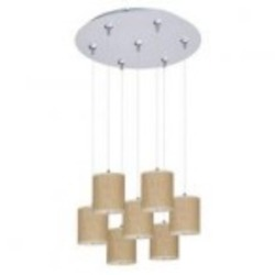 ET2 Elements 7-Light RapidJack Pendant and Canopy - E95501-101SN
