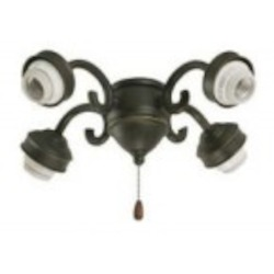 Emerson Fans Four Light Oil Rubbed Bronze Fan Light Kit - F490ORB
