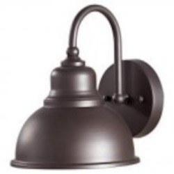 Feiss One Light Oil Rubbed Bronze Metal Shade Outdoor Wall Light - OL8701ORB