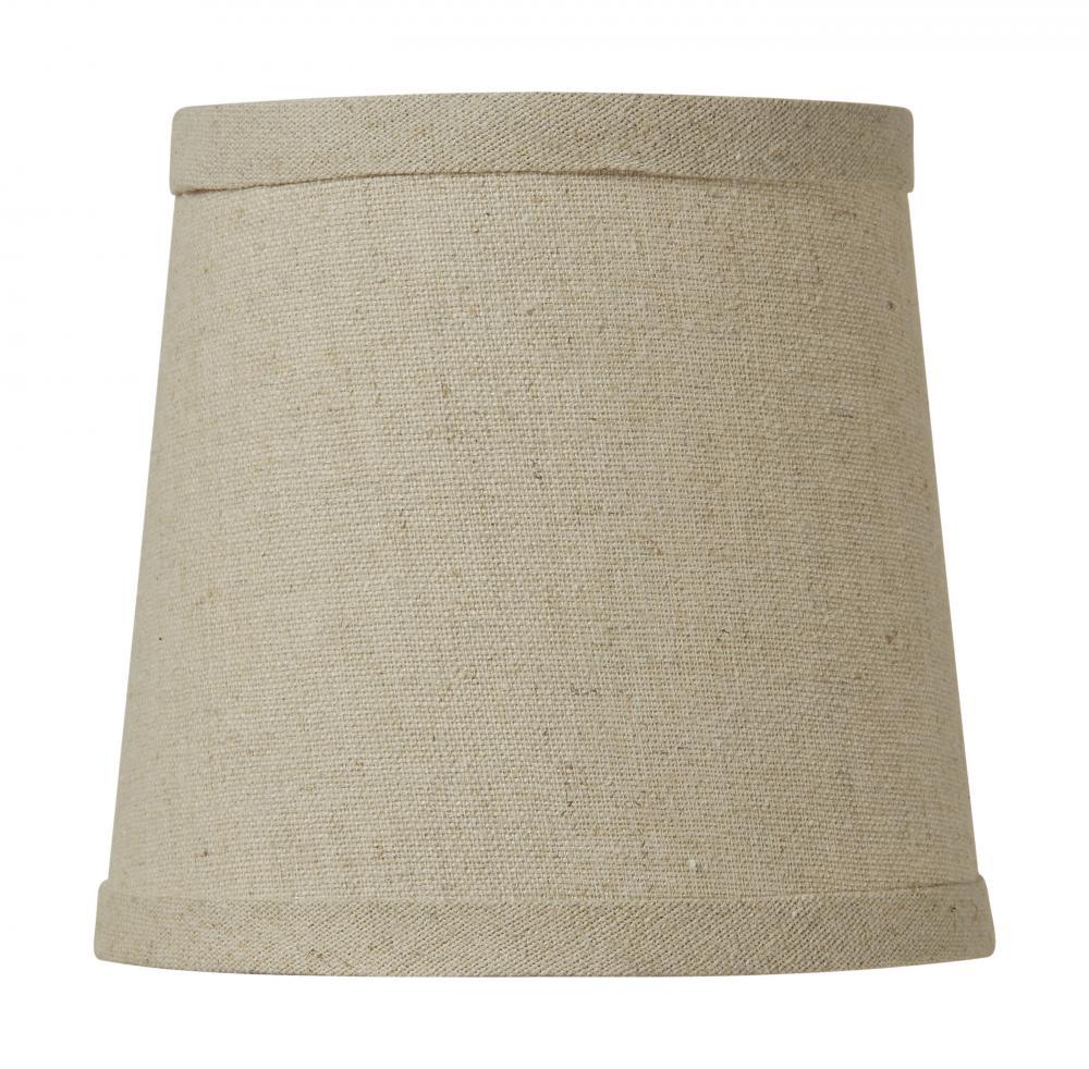 jeremiah natural linen shade lamp shade sh51 5. Black Bedroom Furniture Sets. Home Design Ideas