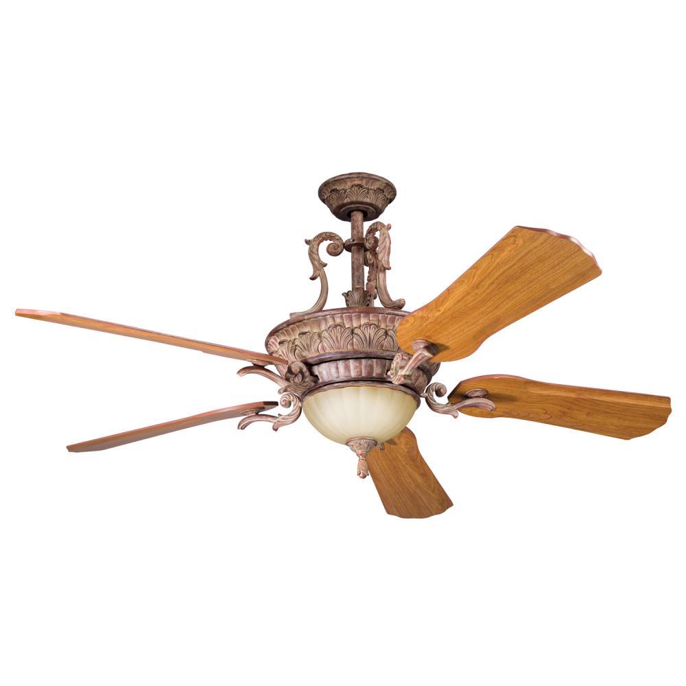 Kichler Mediterranean Walnut Ceiling Fan 300008mdw
