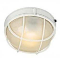Kichler One Light White Outdoor Wall Light - 10622WH