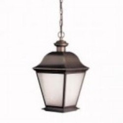 Kichler One Light Olde Bronze Hanging Lantern - 10910OZ