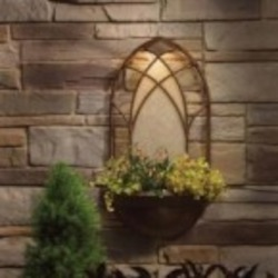 Kichler Landscape Planter wall light 12V - 15419TZT