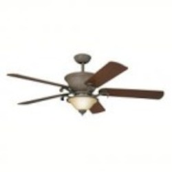 Kichler Tannery Bronze W/ Gold Accent Ceiling Fan - 300010TZG