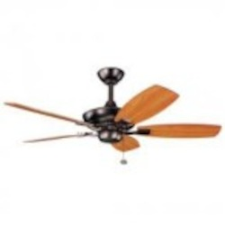 Kichler Oil Brushed Bronze Ceiling Fan - 300107OBB