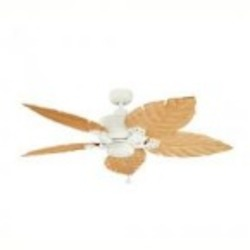 Kichler Satin Natural White Outdoor Fan - 320102SNW
