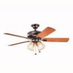 Kichler Four Light Oil Brushed Bronze Ceiling Fan - 339401OBB