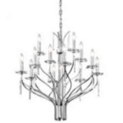 Kichler Twelve Light Chrome Up Chandelier - 42928CH