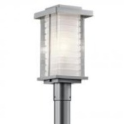 Kichler One Light Platinum Post Light - 49367PL