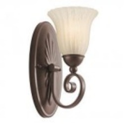 Kichler One Light Tannery Bronze Wall Light - 5926TZ