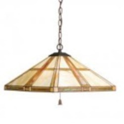 Kichler Three Light Dore Bronze Down Pendant - 65069