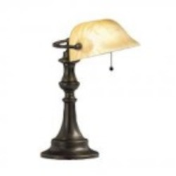Kichler One Light Bronze Desk Lamp - 70407CA