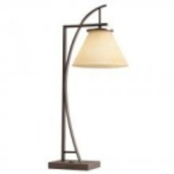 Kichler One Light Painted Metal Desk Lamp - 70822CA