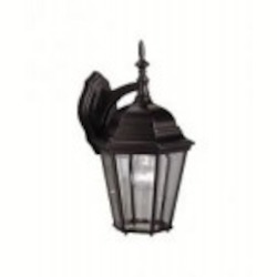 Kichler One Light Black (painted) Wall Lantern - 9655BK