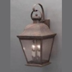 Kichler Four Light Black (painted) Wall Lantern - 9704BK