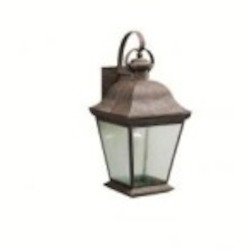 Kichler One Light Black (painted) Hanging Lantern - 9709BK