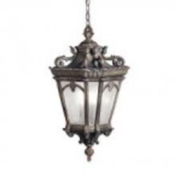 Kichler Three Light Londonderry Hanging Lantern - 9855LD